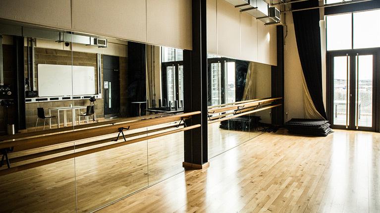 The Backstage Centre the dance studio