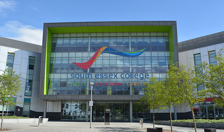 Exterior of Thurrock Campus