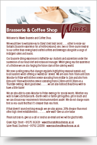 Brasserie Coffee Shop