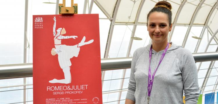 Art student wins Royal Opera House design competition