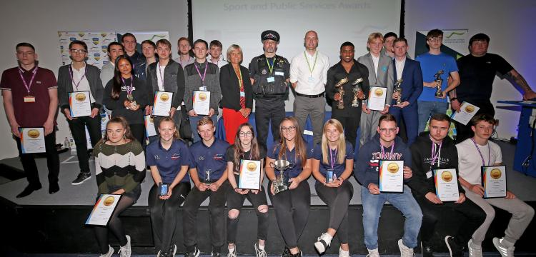 Sport and public services students recognised with awards