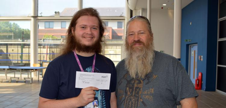 GCSE results day - Nathan Eagling